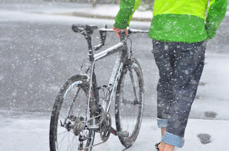 Photo: Summer Snowstorm  Getting the shot in Park City during PressCamp. #dvpresscamp