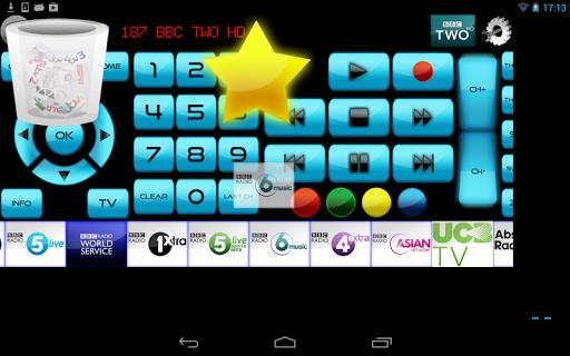 Remote for Panasonic TV+BD+AVR screenshot 8