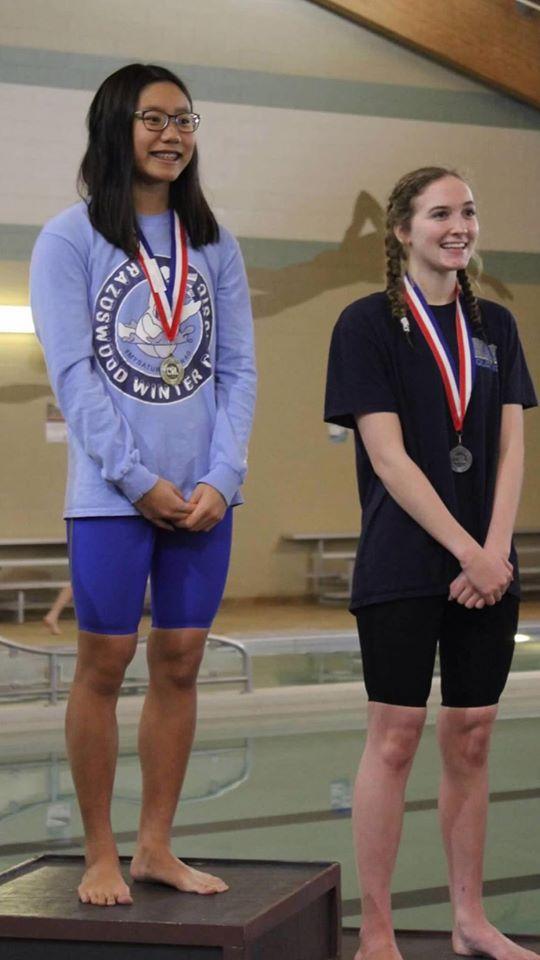 BWood Girls Swim Winners