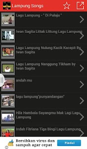 Lampung Songs screenshot 1