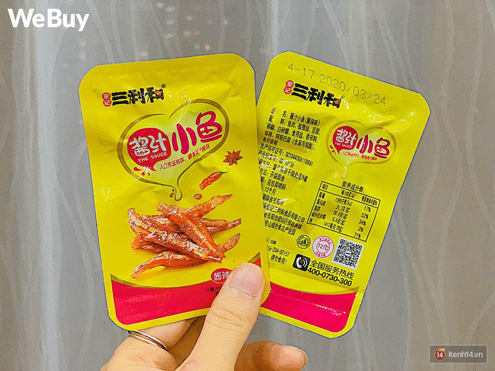 """Review set đồ ăn vặt nội địa Trung Quốc hot hit gần đây: Lung linh hấp dẫn là thế nhưng ăn thử mới thấy như bị... """"lừa tình"""" - Ảnh 14."""