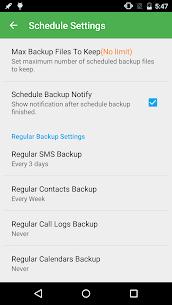 Super Backup Pro: SMS y Contactos 4