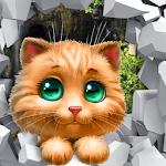 Funny Cat Cartoon icon