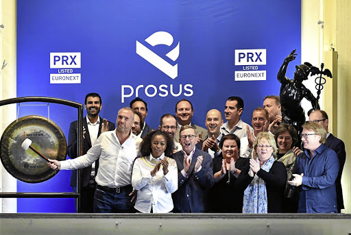 Naspers sells R24bn in Prosus shares to buy back its own - businesslive.co.za