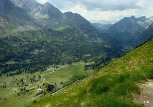 Photo: El valle, fondo sur.