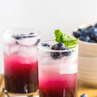 Blueberry Ginger Drink Recipes