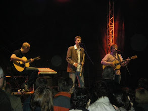 Photo: Simon & Garfankel Lieder schlossen den tollen Abend ab....