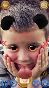 Zvířecí Obličej Nálepky - Snap Filtry - náhled
