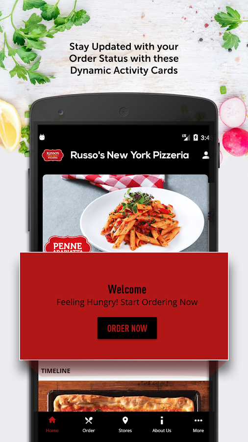 Russo's New York Pizzeria- screenshot