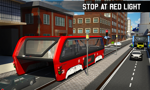 Teen Driving App >> Elevated Bus Simulator: Futuristic City Bus Games - Apps ...