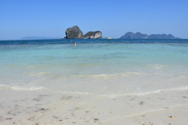 Swim in crystal clear water at Koh Ngai