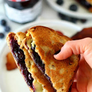 Ultimate Breakfast Grilled Cheese Sandwich.