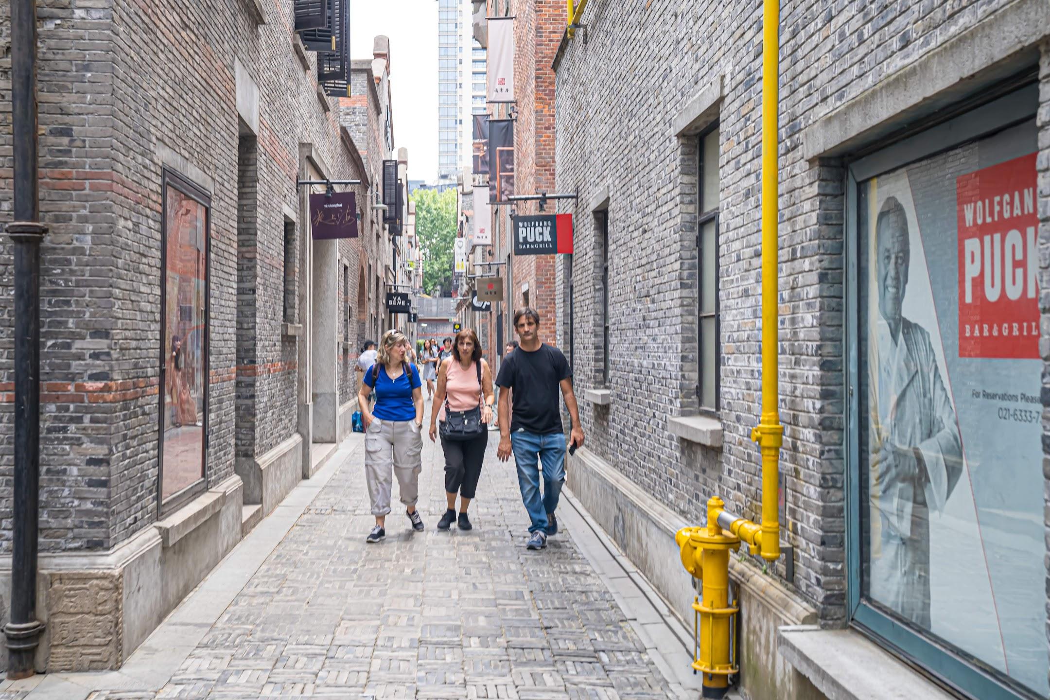 上海 新天地 石庫門2