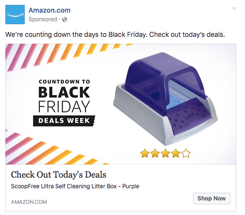 facebook ads for amazon