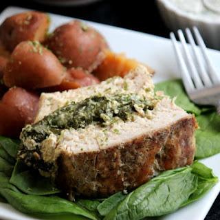 Slow Cooker Ranch Stuffed Pork Loin Recipe