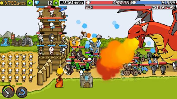 Grow Castle screenshot 01