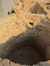 Photo: Cistern at Qumran