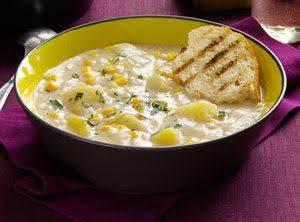 Quick Potato Corn Chowder Recipe