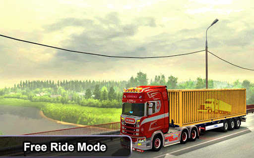 Indian Truck Offroad Cargo Drive Simulator 2 apkdebit screenshots 9