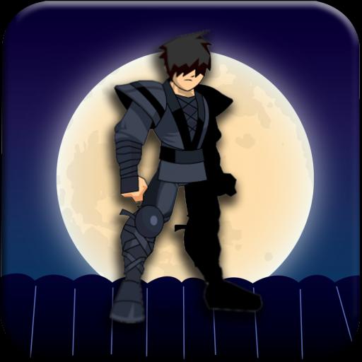 Dark Ninja Running