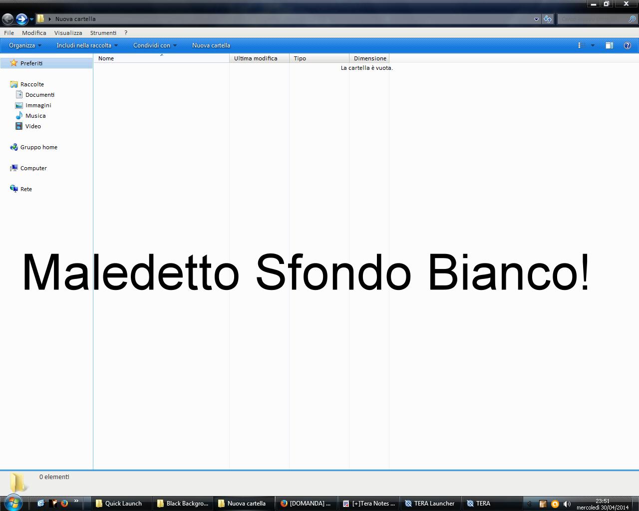 Problema Personalizzare Windows 7 Solo Una Cosettina Piccola