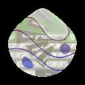Raw grapes GO Keyboard icon