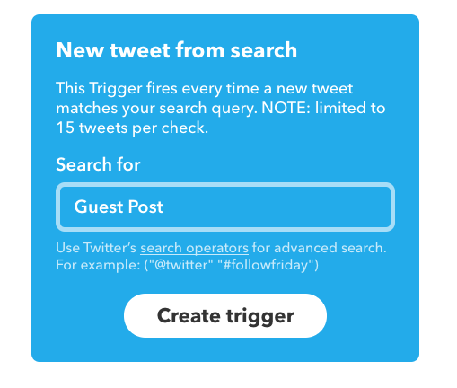 How to Use Twitter to Automatically Monitor for Press