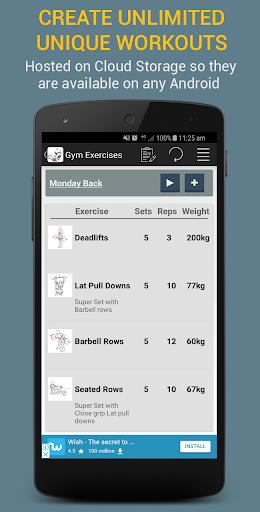 Gym Exercises 2.1 screenshots 17