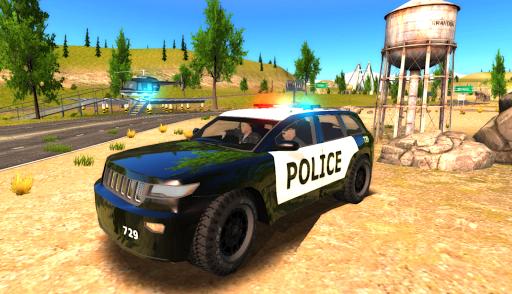 Crime City Police Car Driver apktram screenshots 1