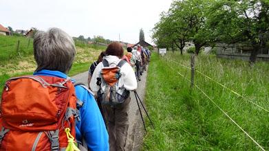 Photo: Un km à pied, ça use, ça use...!