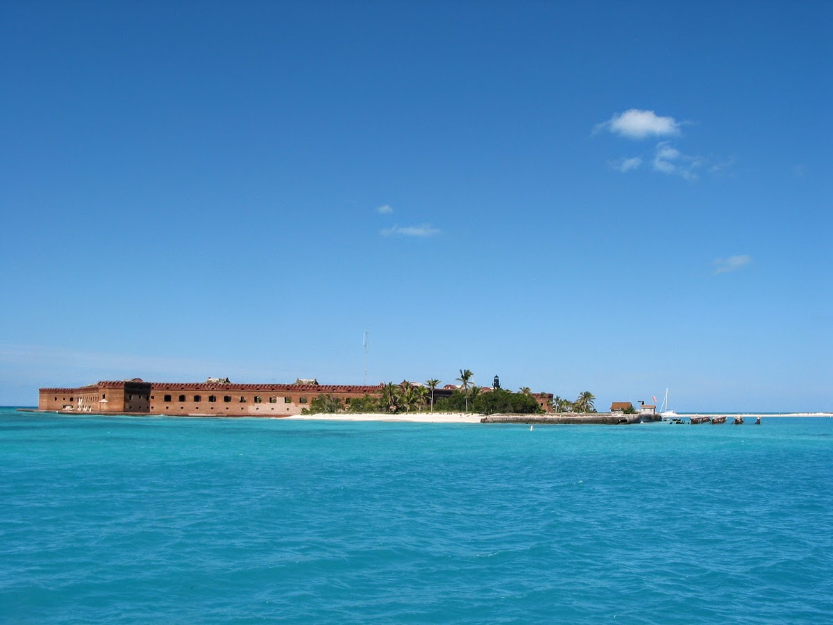 Dry Tortugas from the ferry