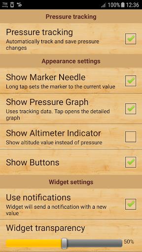 mu Barometer 3.0.1 screenshots 3