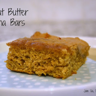Peanut Butter Banana Bars – #FilltheCookieJar
