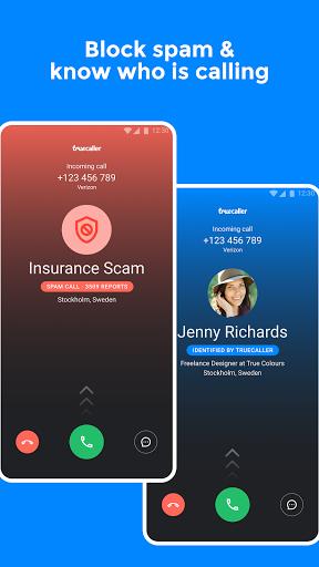 Truecaller: Caller ID, block fraud & scam calls modavailable screenshots 1