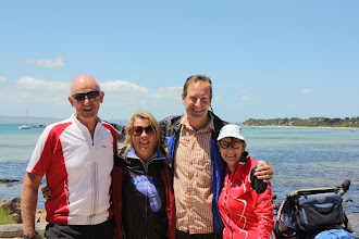 Photo: Year 2 Day 150 -  With Max and Glenys at Sorrento Harbour