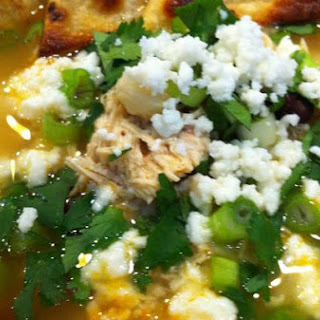 Kind of Healthy Chicken Tortilla Soup