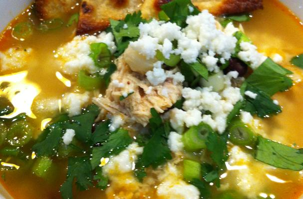 Kind of Healthy Chicken Tortilla Soup