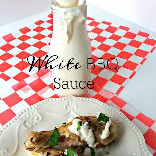 White BBQ Sauce.