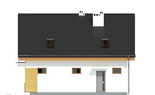 Nowinka II z garażem 1-st. A - Elewacja prawa