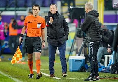 """Van den Brom pas satisfait de l'arbitrage : """"Nous aurions pu obtenir deux penaltys"""""""