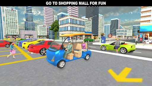 Download Shopping Mall Rush Taxi: City Driver Simulator MOD APK 1