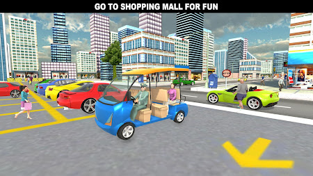 Shopping Mall Rush Taxi: City Driver Simulator 1.1 screenshot 2093852