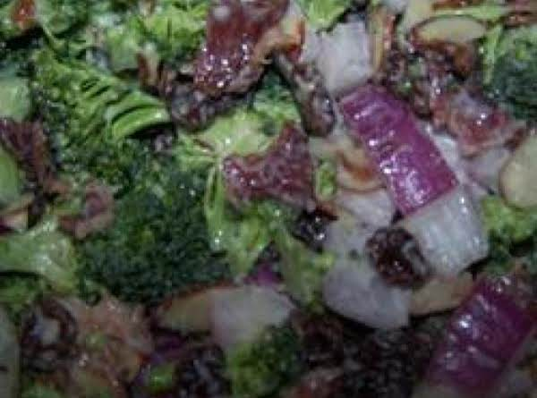 Broccoli & Bacon Salad Recipe