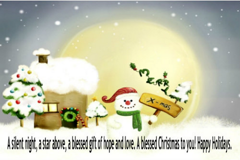 free merry christmas cards screenshot 5 - Free Photo Christmas Cards