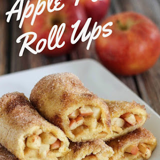 Apple Pie Roll Ups.