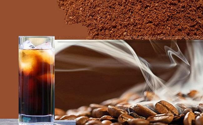 Bột cà phê nguyên chất sau khi pha sẽ giúp bạn tận hưởng hương vị đậm đà của chúng