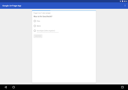 Umfragen Google