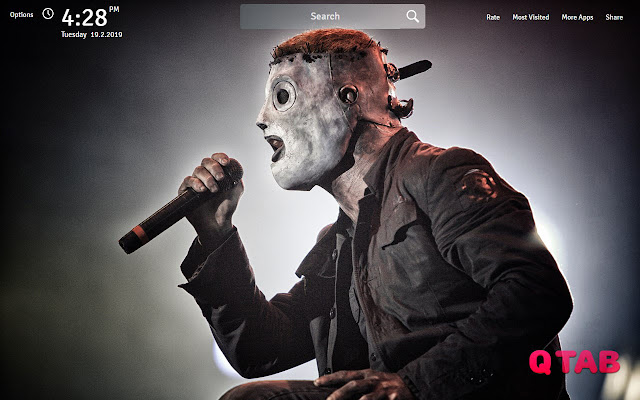 Slipknot Wallpapers Theme Slipknot New Tab Chrome Veb Prodavnica