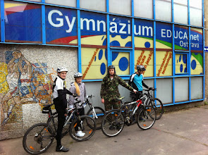 Photo: City cross za architekturou bruselského stylu v Ostravě a okolí. 5. vyjížďka EDUCAnet Cyklo Teamu (sobota 3. květen 2014).