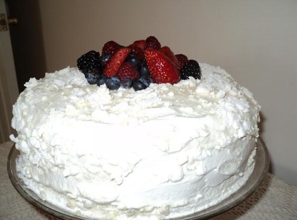 Lemon Dream Crumb Cake With Fresh Fruit Recipe